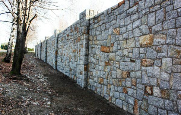 Ogrodzenie z kamienia – Jastrzębie Zdrój
